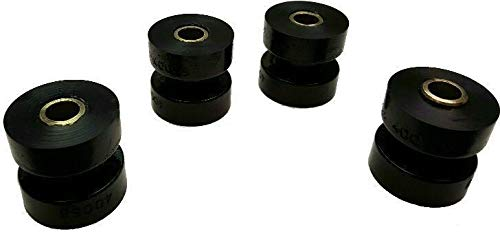 Energy Suspension 90.9053G Black Poly Peterbilt Exhaust Bushings (4)