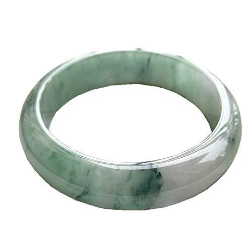 Wuligeya Natürliche Jade Armband, schwimmende Orchidee Jade Armband, Prinzessin Armband
