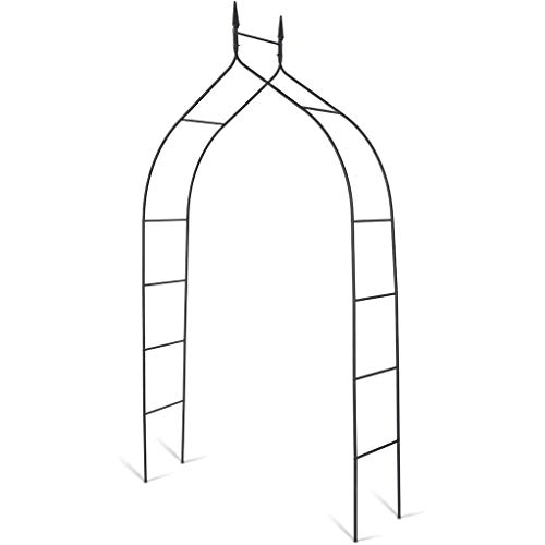 Metal Garden Arch,Trellis for Plants Support Roses Climbing Archway Garden Decoration,Outdoor Archway Arbour Decorative Heavy Duty Strong Stable