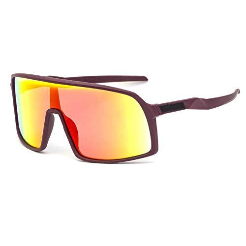 Gafas, Gafas de Bicicleta Coloridas, Pieza de Tendencia Masculina, Pieza de Deportes al Aire Libre, Gafas de Sol Moda