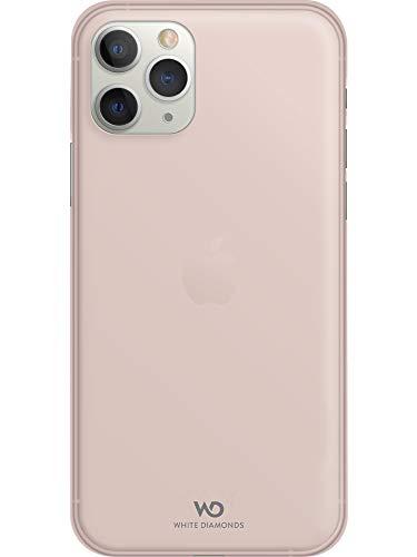 WHITE DIAMONDS - Ultra Thin Iced Case Hülle für Apple iPhone 11 Pro | halb-transparent, dünn, schlank, rutschfest (Rose Gold)