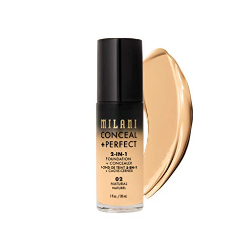 Milani 2-in-1 Conceal + Foundation