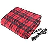 Treksafe 12V Heated Blanket - car / truck, high / low temperature, warm and comfortable