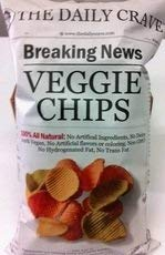 The New item Daily Crave Veggie Chips 6 Oz Popular brand in the world Pack Of - of