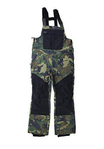 THIRTYTWO 32 Pantalons de snowboard Uomo Basement BIB CAMO XS