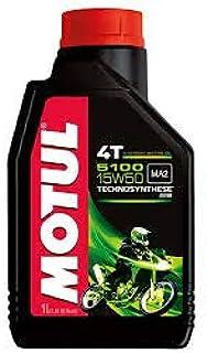 MOTUL 5100 4T 15W50 SEMI Synthetic 4STROKE Oil