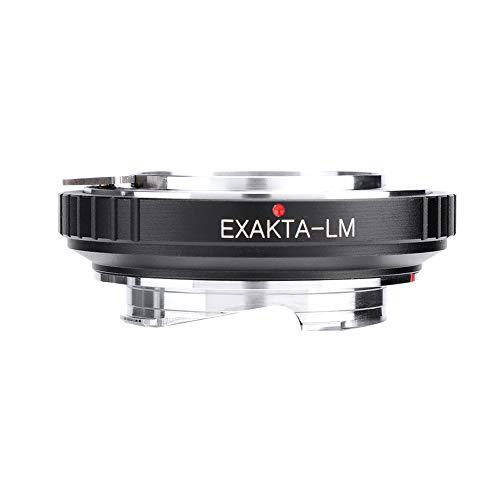 Elerose EXAKTA-LM Kamera Adapter Ring, EXAKTA Mount Objektive für Leica M Mount kameras