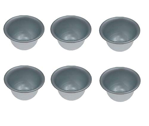 UgyDuky 6 Pack Mini Round Cake Bakeware Mould Non-Stick Cake Pans Small Cheesecake Pudding Pan Cooking Molds For Pies Cheese Small Cakes Desserts Muffin Pudding