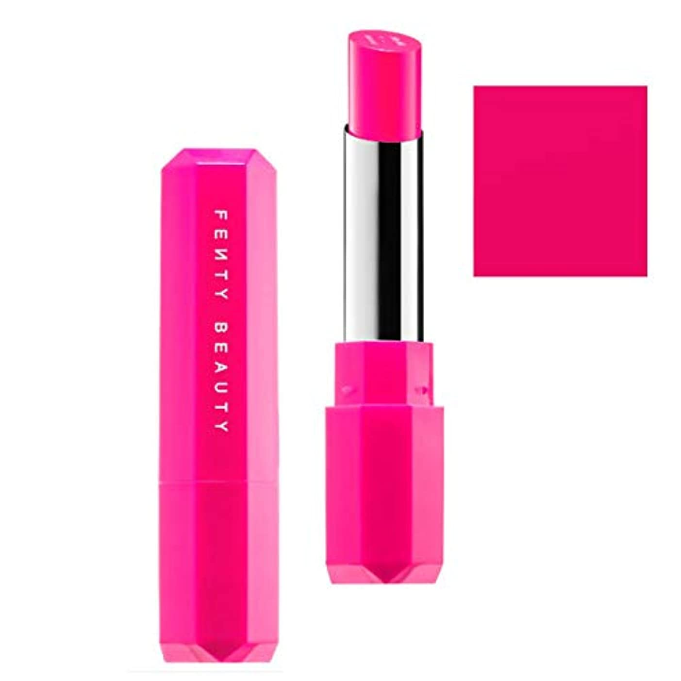 ゼロ火ペーストFENTY BEAUTY BY RIHANNA,New!!, 限定版 limited-edition, Poutsicle Juicy Satin Lipstick - Tropic Tantrum [海外直送品] [並行輸入品]