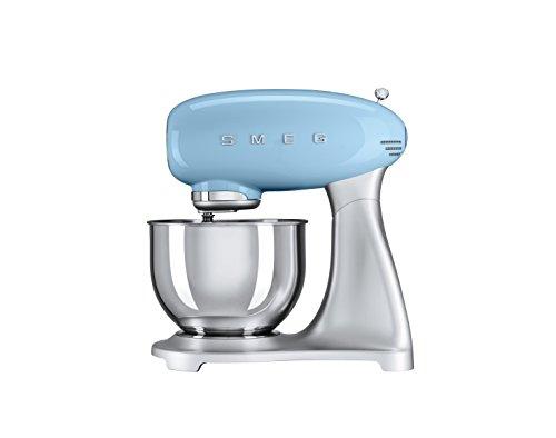 Smeg SMF01PBEU 4,8 L Küchenmaschine, pastellblau