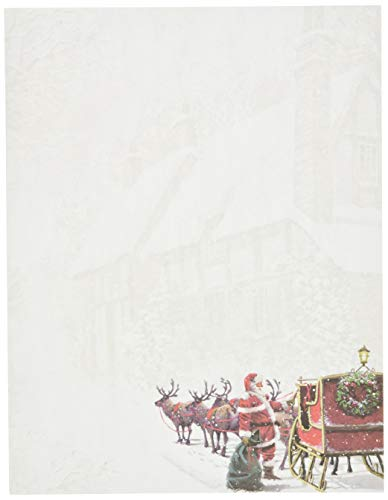 Great Papers! Santa's Sleigh Letterhead, 80 count, 11' x 8.5' (2015064)