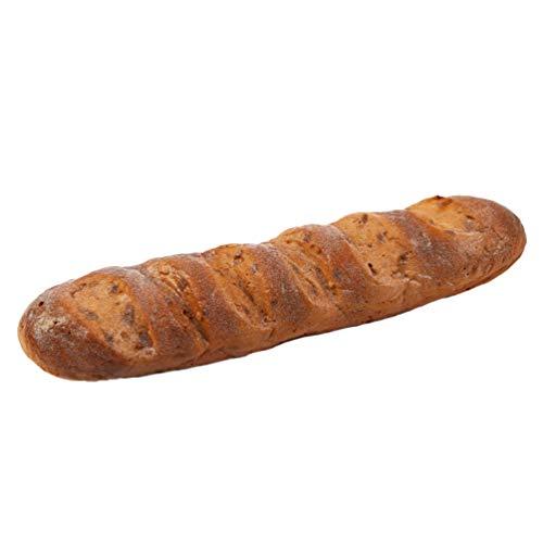 Garneck Fake Bread Simulation Realistic Food Cake French Bread Loaf Baguette for Decoration Display Props Real Model