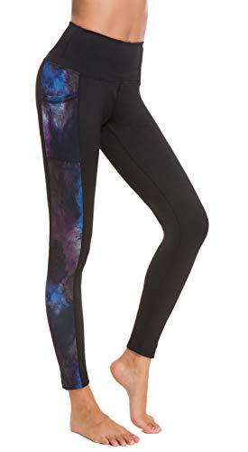 Sugar Pocket Women's Workout Pants with Pocket Running Yoga Leggings Tights M