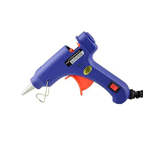 Sylvialuca Pistola de Pegamento de fusión en Caliente 20W Pistola E Pistola...
