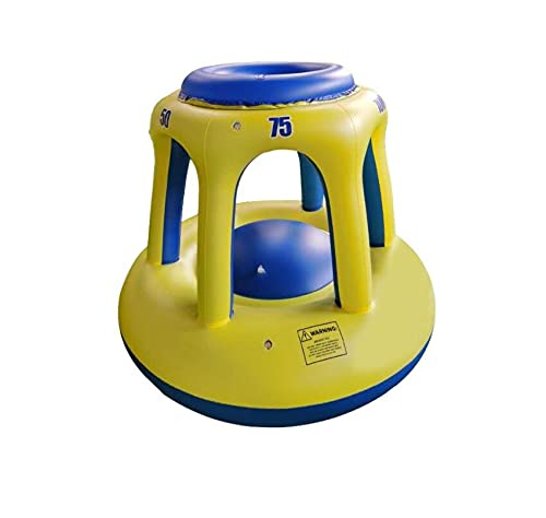 GAO-bo Piscina Baloncesto Hoop Ball Set, Hoop Inflable Juego De Agua De Agua sobre PVC Float Pool Accessories Adolescentes Adultos Agua Competitiva Juego De Agua para La Fiesta De Verano