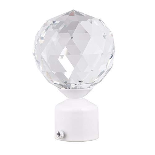 Qingsb 1 stks gordijnroede hoofd plug gordijn staaf bal gordijn levert gordijn accessoires voor gordijn hotel thuis, 8x10 cm