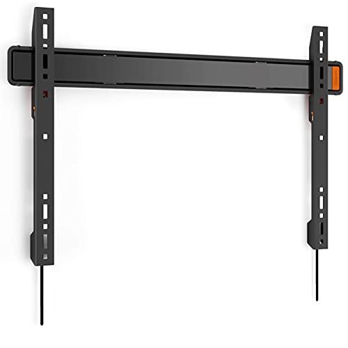 Vogel's WALL 3305 ultrastarke flache TV Wandhalterung für größe (40-100 Zoll) oder schwere (max. 80 kg) Fernseher, Fernsehhalterung, Flach, max. VESA 600 x 400, TÜV-zertifiziert