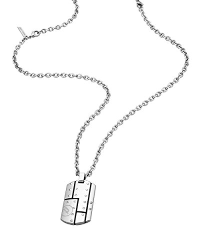 Police PJ26204PSS.01 - Collana da uomo con ciondolo in acciaio INOX