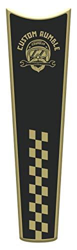 Motocicleta Gas Pantalla/Depósito de Combustible de Goma Tankpad Pantalla adhesivo parar D.ucati Scrambler Custom Rumble v1