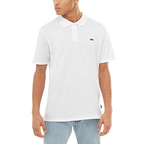 Vans Classic Polo II T-Shirt -Fall 2018-(VN0A3HLHWHT1) - White ...