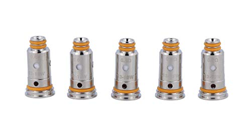 GeekVape Mesh G Coils (0,6 Ohm), DL KA1 Verdampferköpfe für e-Zigarette, 5 Stück