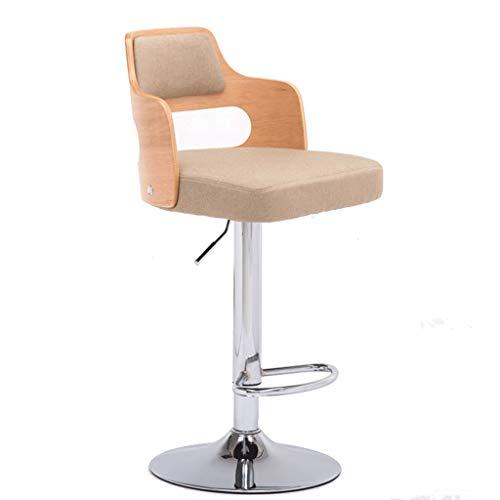 Barhocker Hausbar Schreibtisch Sessellift Drehstuhl Schmiedeeisen Hochlehner Startseite Einfache Hocker (Color : C)