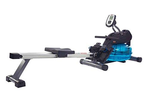Body Sculpture Agua de Remo Rower BR5000–Timón, tracción eléctrica con Agua Obstrucción...