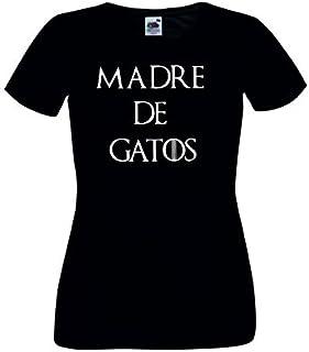 Amazon.es: Los Gatos Negros - Camisetas / Camisetas y tops: Ropa