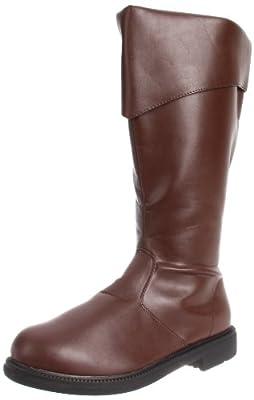 Funtasma Men's Captain-105/BN Dress Boot,Brown Polyurethane,Medium / 10-11 D(M) US by Funtasma