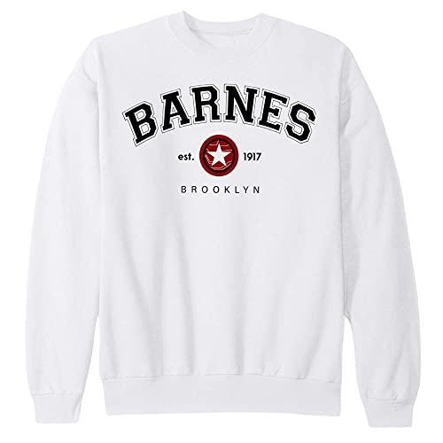 Barnes 1917 Unisex T-Shirt Sweatshirt Hoodie, Barnes 1917 Sweatshirt, Winter Soldier Shirt, Superhero Shirt, Movie Fan Shirt Sweater Hoodie White