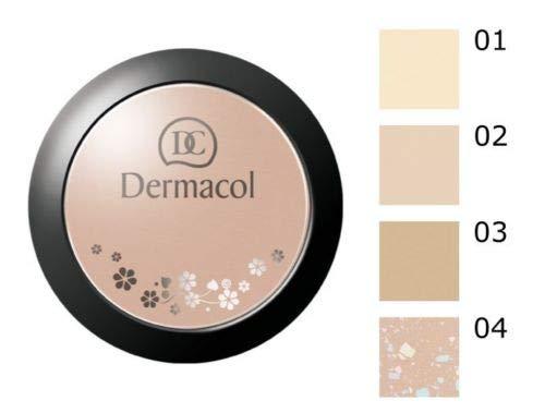 2 x Dermacol Mineral kompakt Puder 8.5g - No. 02