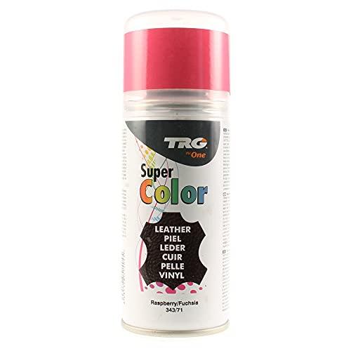 TRG The One - Tinte en Spray para calzado de Piel y Piel Sintética   Ideal para Restaurar o cambiar el color de Zapatos de Piel   Super Color