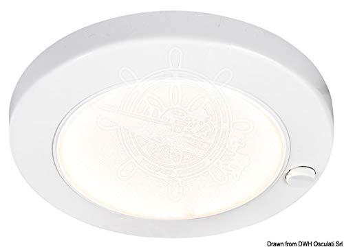 OSCULATI plafondlamp ABS Saturn LED wit draad
