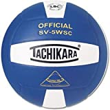 Tachikara Sv5wsc Sensi Tec® Composite Haute Performance de Volley-Ball, SV5WSC.SWR, Scarlet/White/Royal, Official