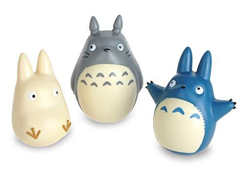 CoolChange Süßes Totoro Figuren Set, Stehauffigur von Totoro, Chu Totoro & Chibi Totoro