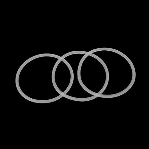 SimpleLife 2 Stücke 10 cm Gummi O Shaped Ersatzdichtungen Dichtung Ring Teile Für Mixer Entsafter Weiß 30,8 × 100 cm / 3,94 × 12,13 in
