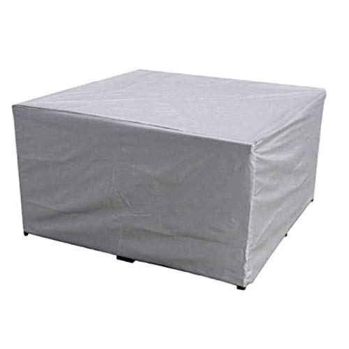 HJHNZDZH Garden Furniture Covers Furniture Cover, Waterproof UV Windproof Patio Table Cover Dust-Proof Rip-Proof Chair Cube Covers for Outdoor Sofa Table Chair -123 * 61 * 72cm ( Size : 210*140*80cm )