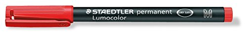 Staedtler 3172 - Lumocolor M permanent rot