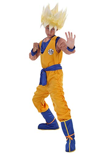 Dragon Ball Z Child Anime Super Saiyan Goku Costume X-Large (16-18)