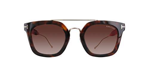 Tom Ford FT0541 FT0541-55U-Braun Rechteckig Sonnenbrille 51, Braun