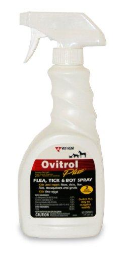Vet-Kem Ovitrol Plus Flea, Tick and Bot Spray for...