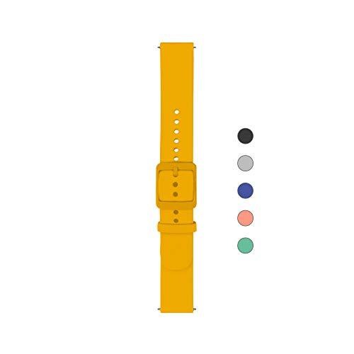 Withings Unisex-Adult Armband, gelb, 18mm