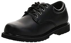 top 10 most comfortable work shoes men Men's Work Shoes Skechers Cottonwood Elks, Black, 10.5 3E US