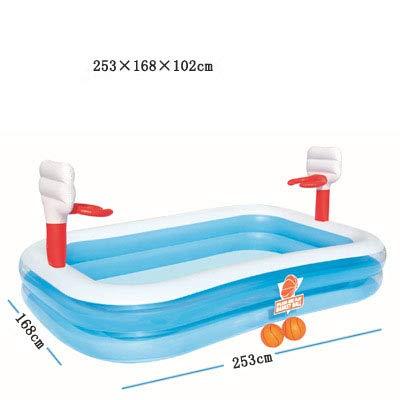 TYYM Baby Planschbecken Schwimmbecken Aufblasbares Wasserballbecken Verdicktes Fischen Sandbecken Aufblasbares Kinderspielzeug Kindergeschenke 12