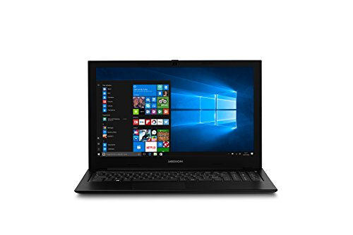 MEDION S6421 - MD 61010 - Ordenador portátil de 15.6' FHD (Intel Core i5-6200U, RAM de 8 GB, SSD de 256 GB, Intel HD Graphics, Windows 10), negro