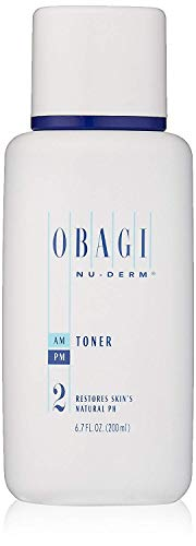 Obagi Medical Nu-Derm Face Toner Alcohol Free Toner with Witch Hazel and Aloe Vera for Oily Skin or Dry Skin Types 6.7 Fl Oz, Pack of 1