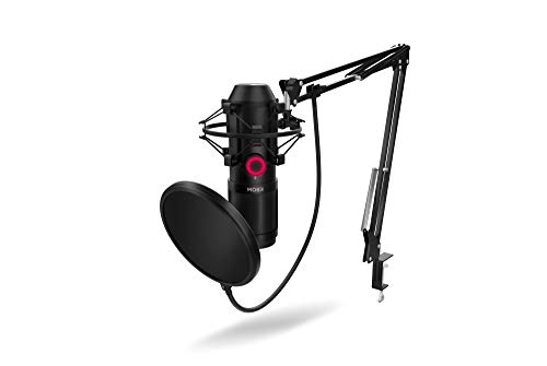 KROM KAPSULE - NXKROMKPSL - Kit de micrófono Streaming,...