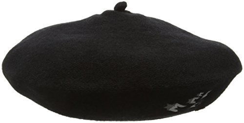 edc by ESPRIT Damen 096CA1P008 Baseball Cap, Schwarz (Black 001), Small (Herstellergröße: S)