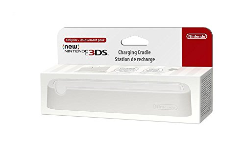 Nintendo New 3DS - Ladestation / Ladeschale (weiß)