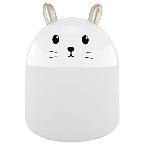 Liuying Mini humidificador portátil pequeño humidificador de Niebla fría USB humidificador de Escritorio Personal Adecuado para Dormitorio de bebé/Viaje de Negocios/Oficina/hogar